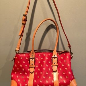 Rooney & Bourke Vintage Bag with accessories